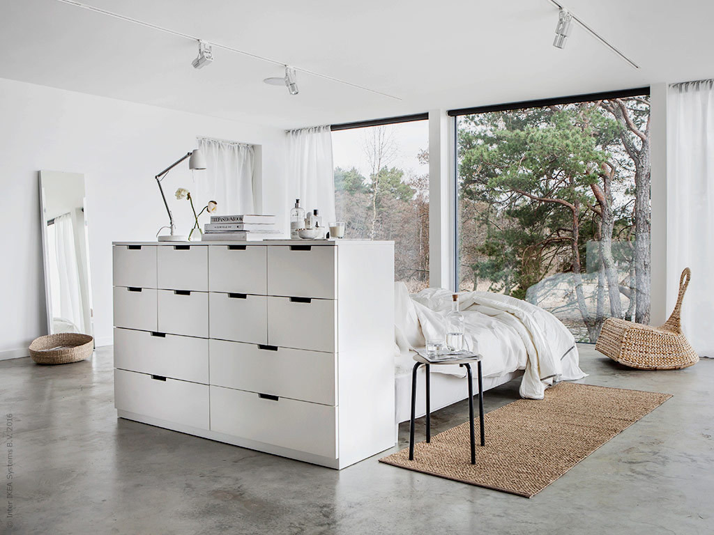 la t te de lit avec rangement am nage la chambre le blog. Black Bedroom Furniture Sets. Home Design Ideas